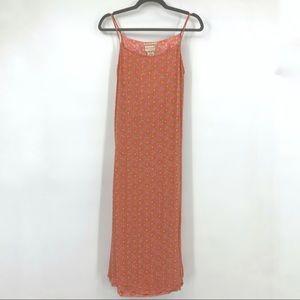 April Cornell Tamara dress pink spaghetti straps